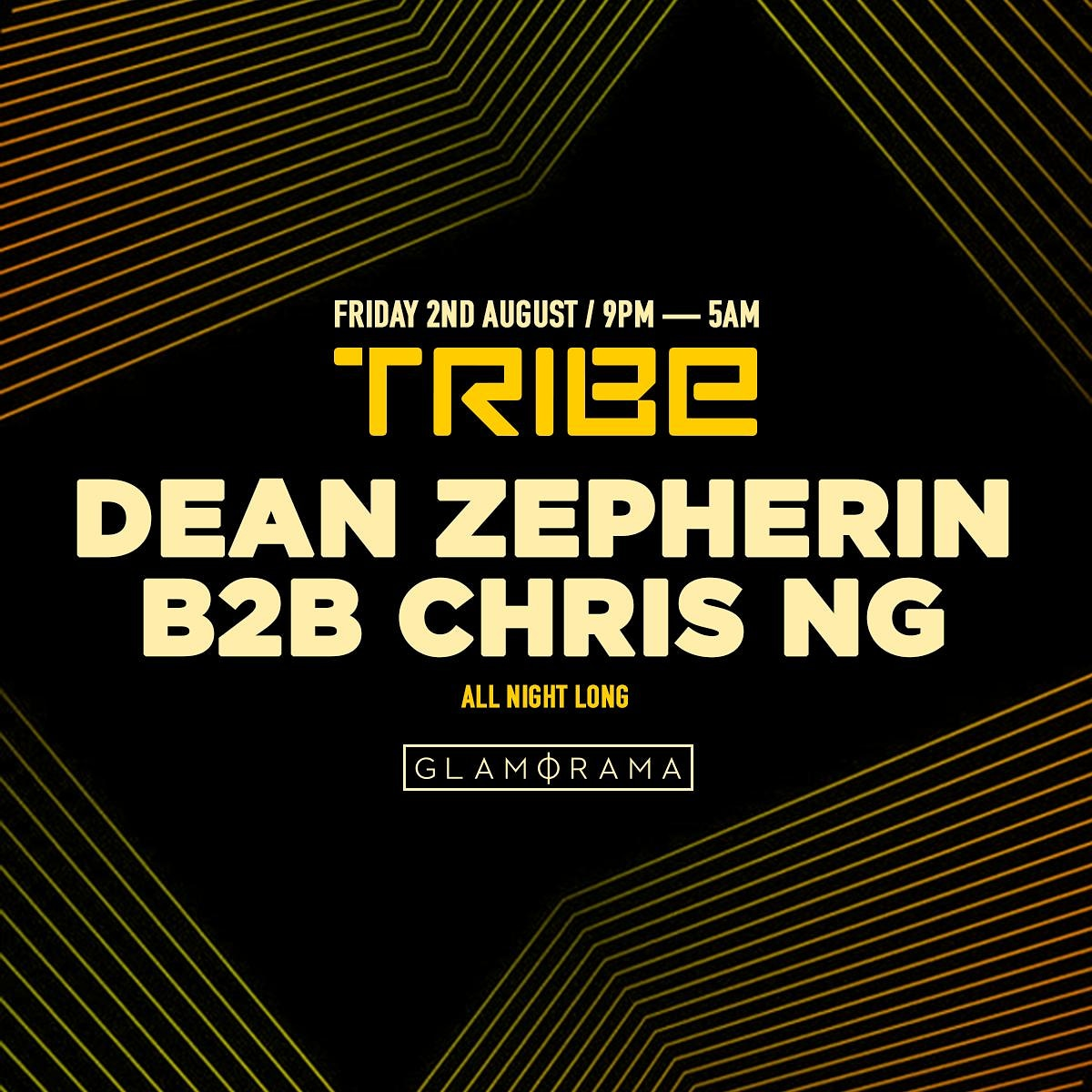 Tribe comes to OZ Fri Aug 9 ft Dean Zepherin