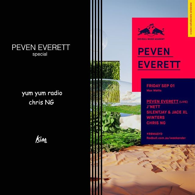 Peven Everett in Melbourne This Friday @ Max