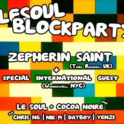 Block Party Sun 26th Feb in Nth Melb. Details