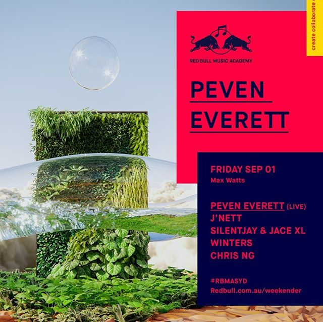 Peven Everett & band come to Melbourne Fri Sept 1.