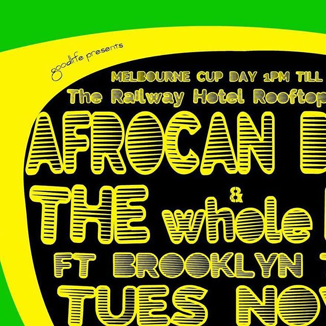Back Melbourne Cup Day as Afrocan brings you the